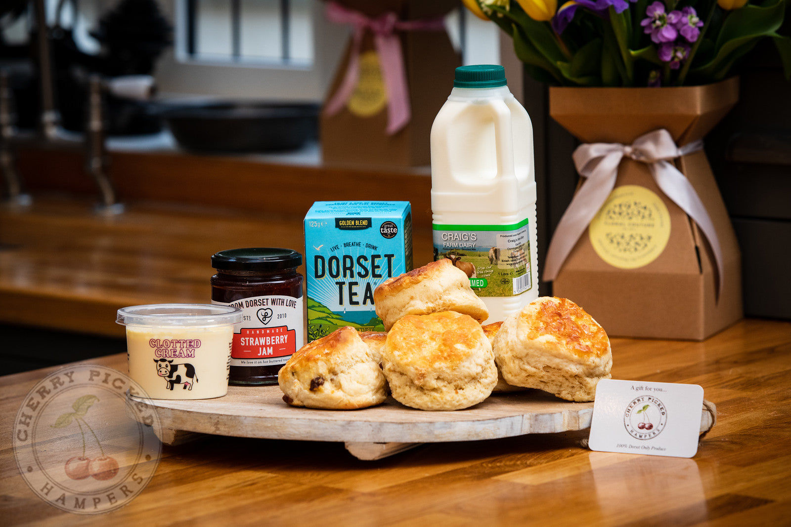 Dorset Cream Tea Welcome Hamper