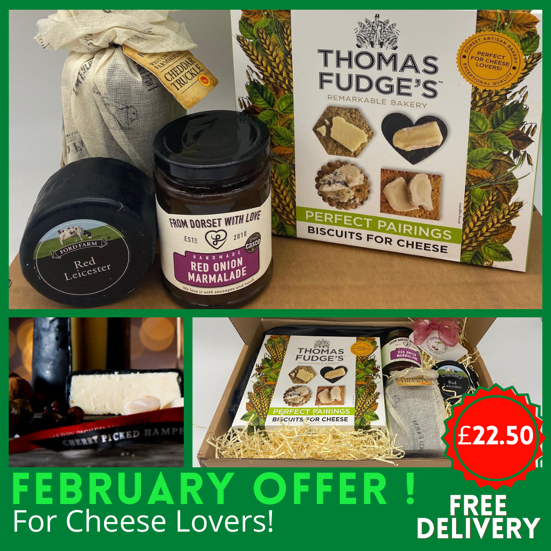 Dorset Cheese & Biscuits *Special Offer* Free Delivery!