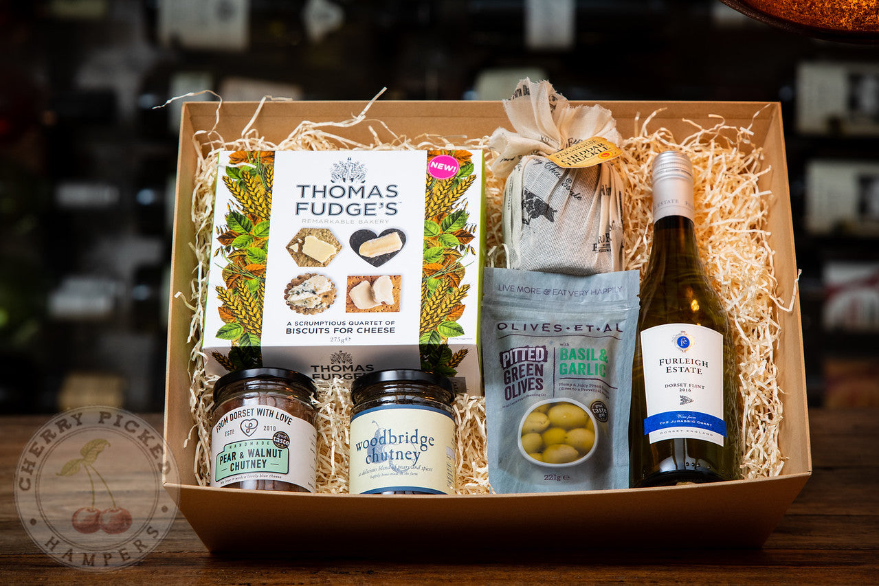 With Love From Us - Corporate Hampers - Cherry Picked Hampers - 100% Dorset