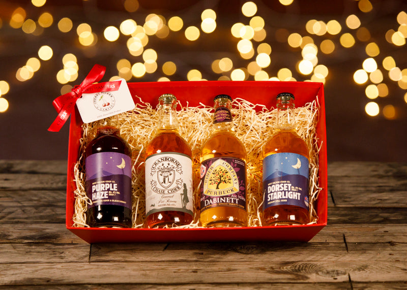 Christmas Cider Lover - Christmas Gifts - Cherry Picked Hampers - 100% Dorset
