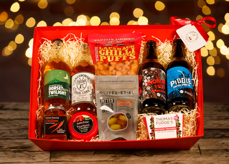 Christmas Goody Box - Christmas Gifts - Cherry Picked Hampers - 100% Dorset