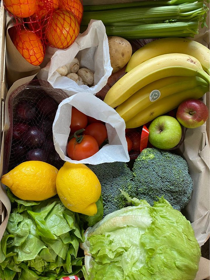 Fruit, Salad & Veg Box (Medium)
