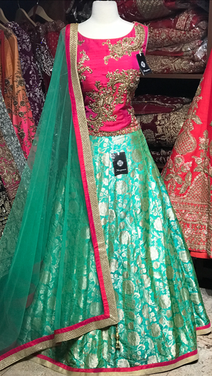 The Fall 2020 Banarasi Lehenga Collection BL-17
