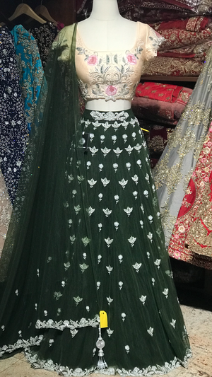 The Forest Queen Lehenga-PW15