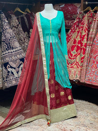Net Ethnic Wear Lacha Collection PL-008