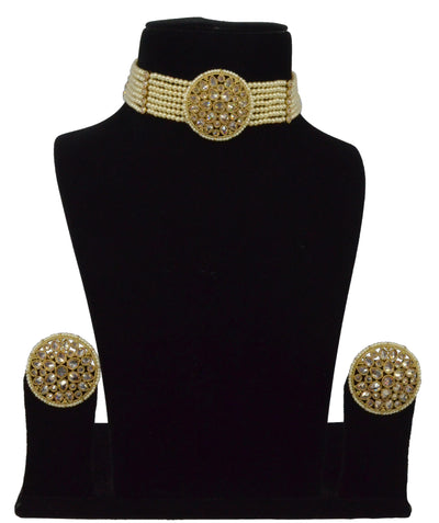 Tara Choker Set W/ Earrings