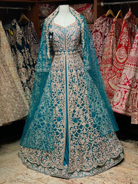 Magnificent Turquoise Blue Lacha w/ Veil Collection PL-004
