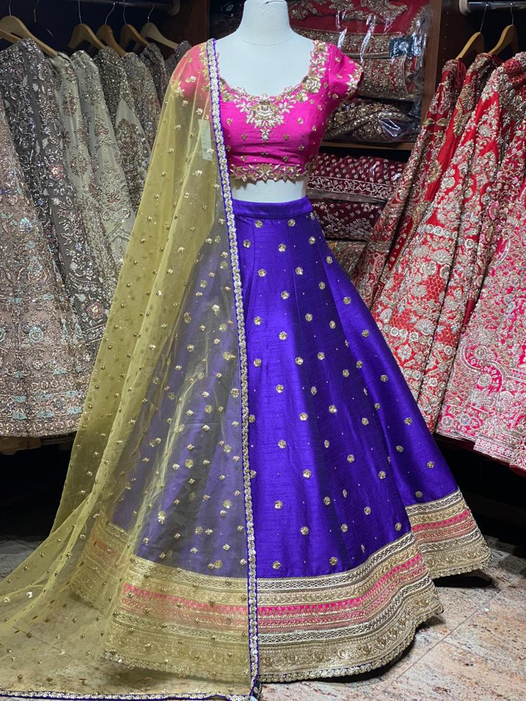 Admiral Blue Party Wear Lehenga PWL-031