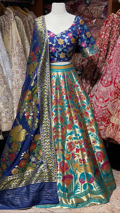 The Fall 2020 Banarasi Lehenga Collection BL-24