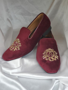 Mens Embellished Loafers