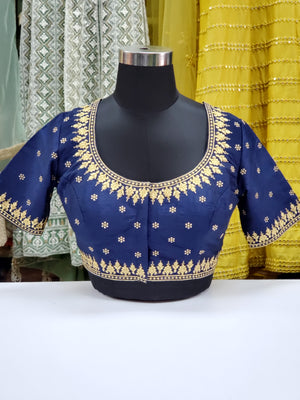 Fancy Embroidered Blouse R1S35