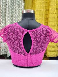 Fancy Mesh Blouse R1S27