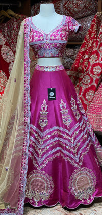 Barbie Pink Party Wear Lehenga PWL-129