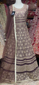 Brunette Brown Size 38 Anarkali