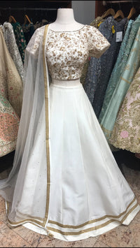Ivory Bridesmaid Lehenga