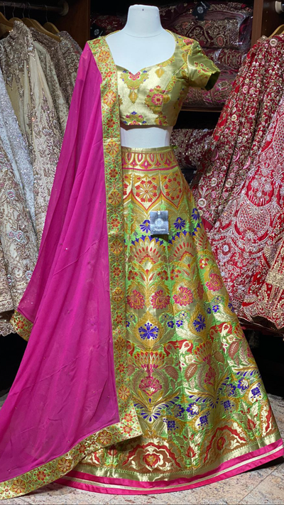 The Fall 2020 Banarasi Lehenga Collection BL-25