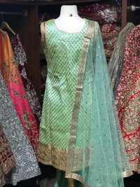Silk Size 38 Special Sharara Suit