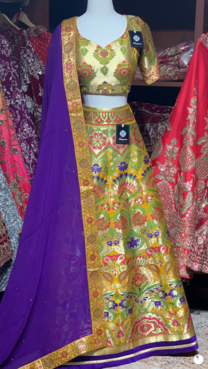 The Fall 2020 Banarasi Lehenga Collection BL-16