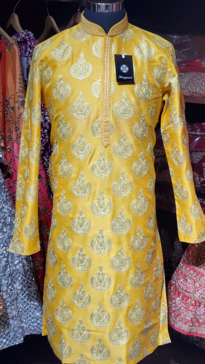 Orange Kurta Pajama