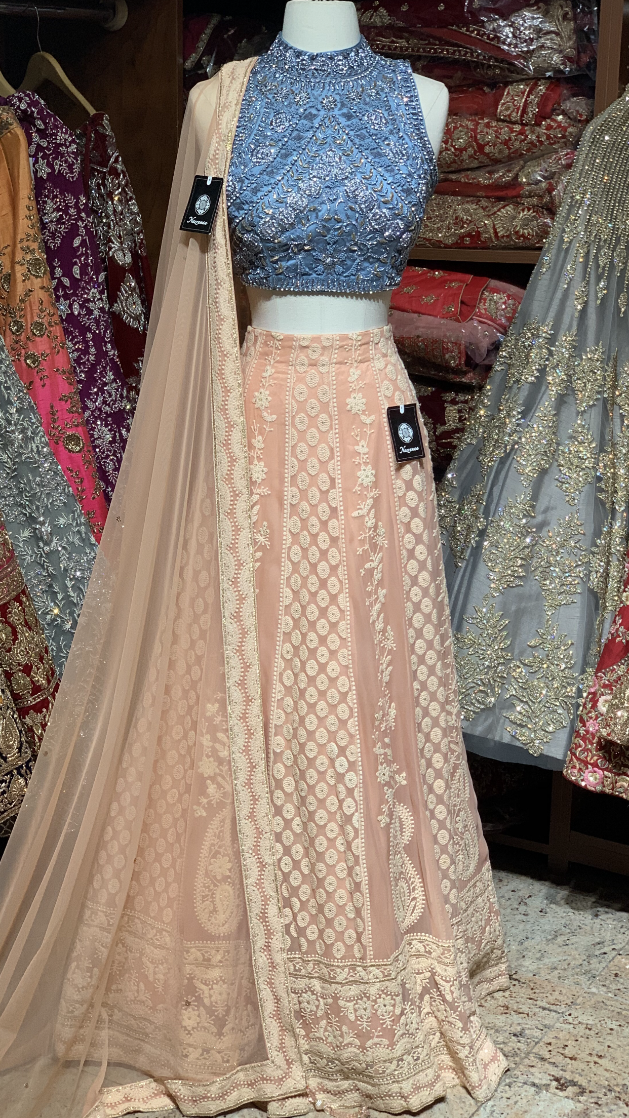 The Butterscotch Lehenga-PW59
