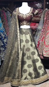 The Sabreena Lehenga-PW33