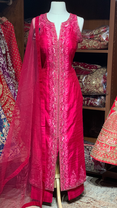 Pink Size 38 Straight Suit