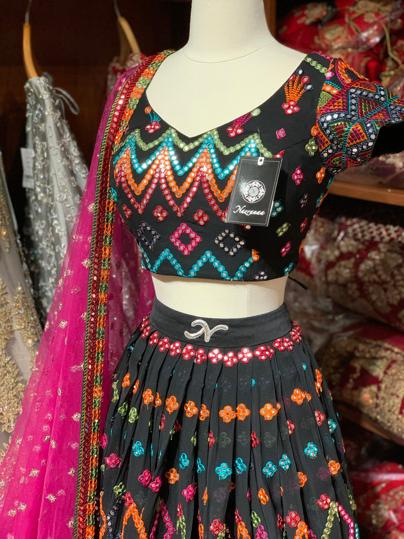 The Fusion Lehenga-PW11