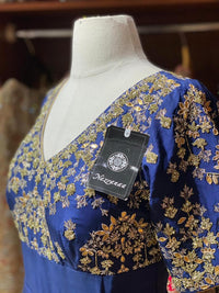 Royal Blue Party Wear Suit Collection PWS-046