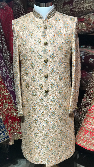 Blush Multi-Color Sherwani