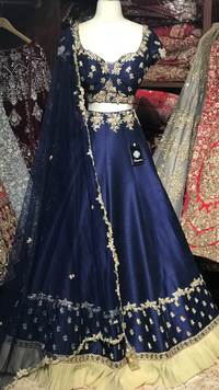 The Dark Sky Lehenga-PW47
