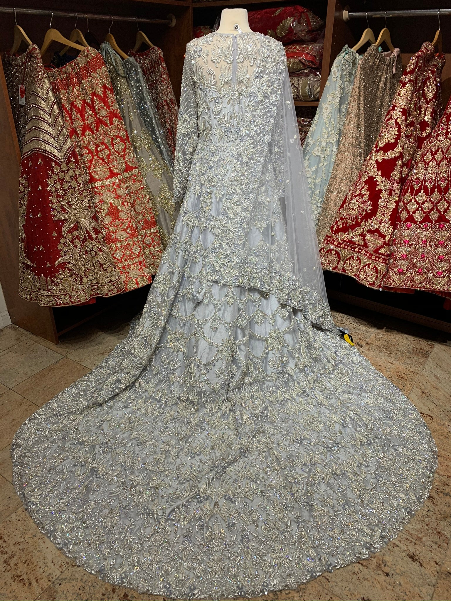 Grey Size 38 2021 Bridal Collection