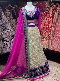 Golden Collection Party Wear Lehenga PWL-106