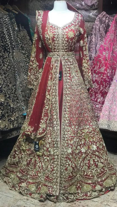 Red Bridal Lacha