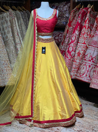 Tuscany Yellow Bridesmaids Lehenga BML-017