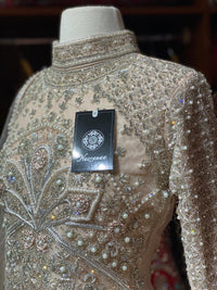 Glamorous Gold Party Wear Suit Collection PWS-064