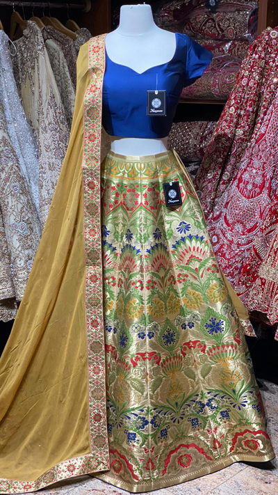 The Fall 2020 Banarasi Lehenga Collection BL-26