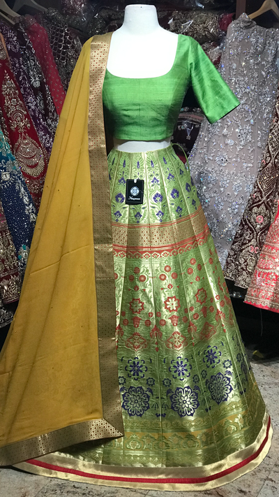 The Fall 2020 Banarasi Lehenga Collection BL-01