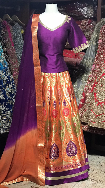 The Fall 2020 Banarasi Lehenga Collection BL-19