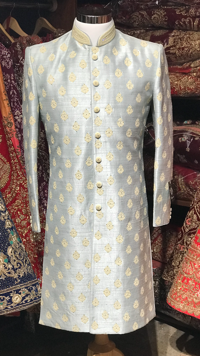 Light Blue Sherwani