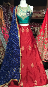 The Fall 2020 Banarasi Lehenga Collection BL-07