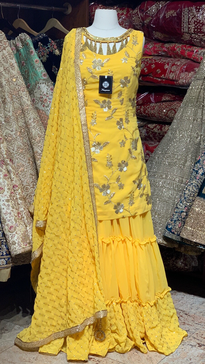 Yellow Gharara