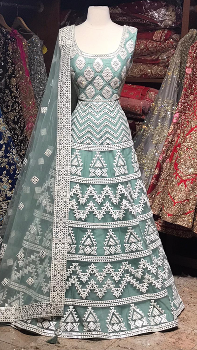 The Kriti lehenga-PW23