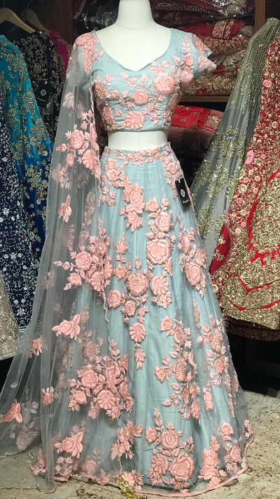 The Rapunzel lehenga-PW16