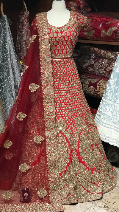 The Maharani Size 38 Bridal Lehenga