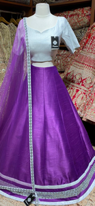 Orchid Purple Bridesmaids Lehenga BML-010