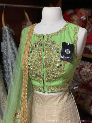 The Pista Popsicle lehenga-PW07
