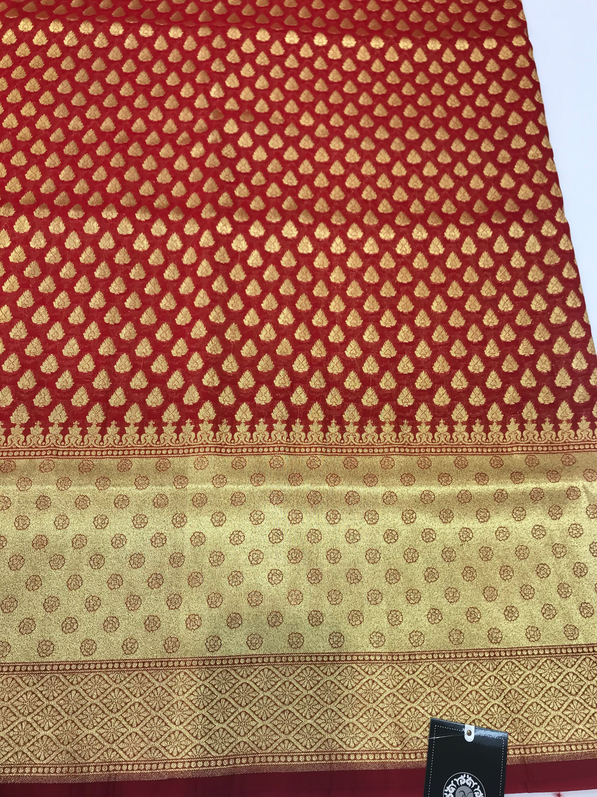 Red Art Banarasi Saree