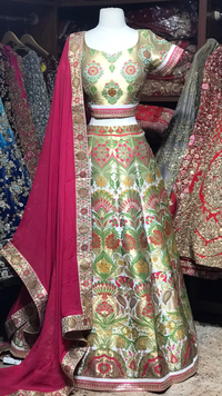 The Fall 2020 Banarasi Lehenga Collection BL-23