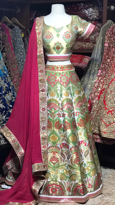 The Bohemian Lehenga-PW30