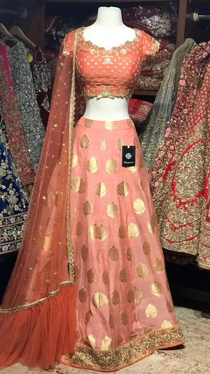 The Peach on the Beach Lehenga-PW44